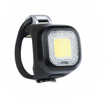 Knog Blinder Mini Color | Model: Chippy, Black | Front