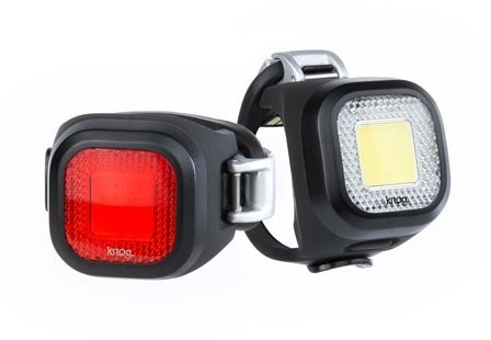 Knog Blinder Mini Twinpack Color: Chippy, Black