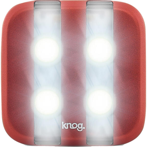 Knog Blinder 4 GT (Front) Color: Red