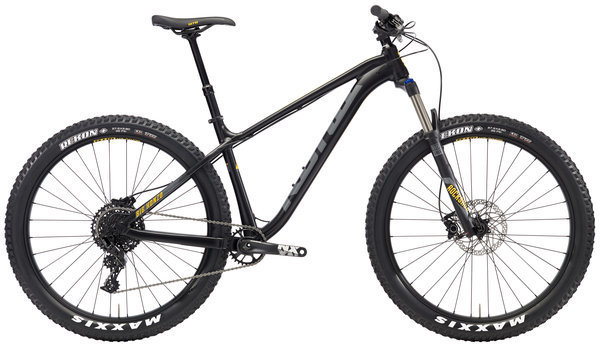 Kona Big Honzo Color: Matt Black w/Grey & Yellow Decals