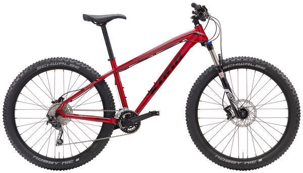 Kona Big Kahuna Color: Gloss Red/Red/Silver