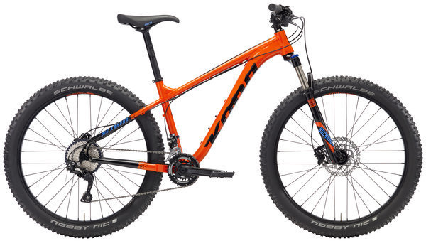 Kona Big Kahuna Color: Gloss Hot Orange/Black w/Black & Blue Decals
