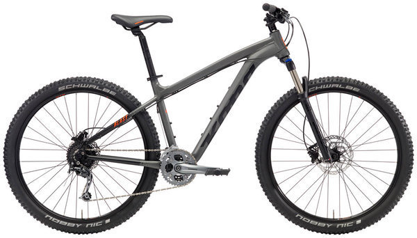 Kona Blast Color: Matt Charcoal/Black w/Black & Orange Decals