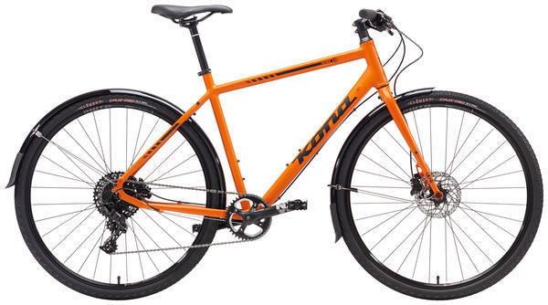 Kona Dr. Dew Color: Matt Orange/Black