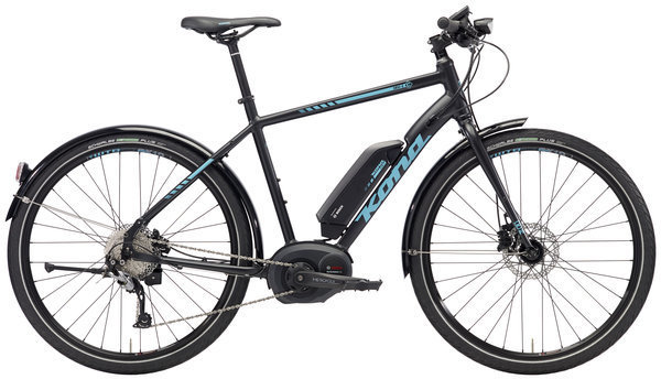 Kona Dew-E Color: Matt Black w/Aqua Decals