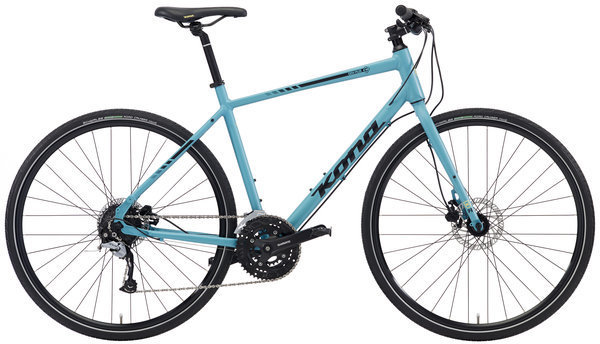 Kona Dew Plus Color: Aqua w/Yellow & Black Decals