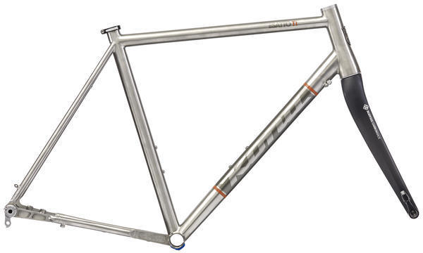 Kona Esatto Ti Disc Frameset Color: Titanium