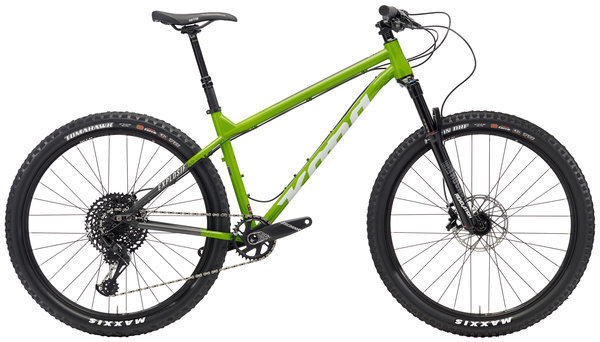 Kona Explosif Color: Gloss Green/Charcoal w/Off-White & Charcoal Decals