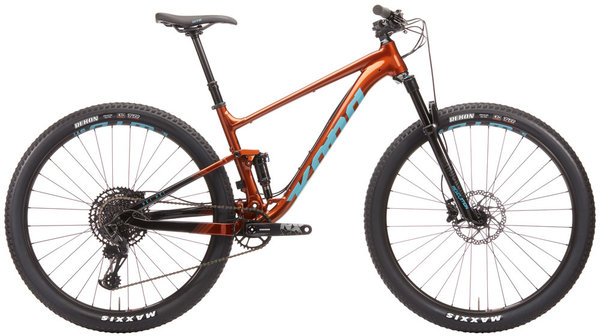 Kona Hei Hei Color: Gloss Rust Orange