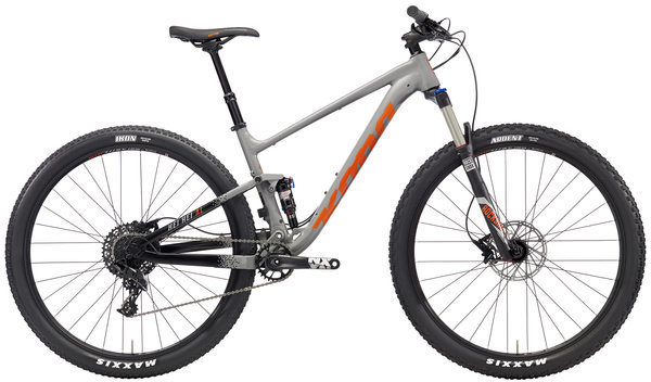Kona Hei Hei AL Color: Matt Grey/Black w/Black, Grey & Orange Decals