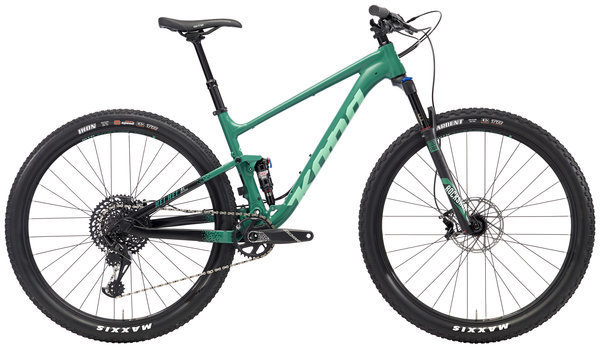 Kona Hei Hei AL/DL Color: Matte Green & Black w/ Black & Green Decals