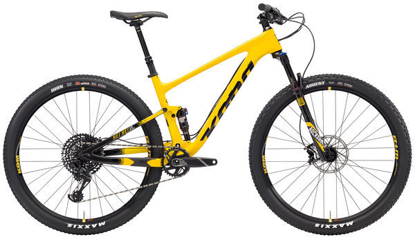 Kona Hei Hei CR/DL Color: Gloss Yellow/Black with Black/White/Yellow Decals