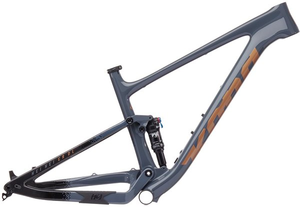 Kona Hei Hei CR/DL Frame Color: Gloss Charcoal Blue