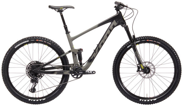 Kona Hei Hei Trail CR Color: Matte Warm Gray/Black