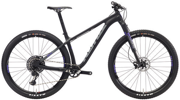 Kona Honzo CR Race Color: Matt Black w/Purple & Charcoal Decals