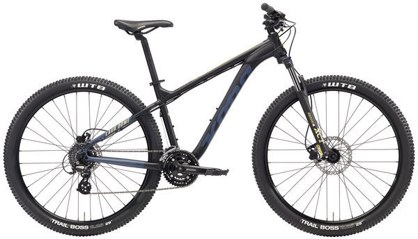 Kona Lava Dome Color: Black/Dark Blue w/Blue & Yellow Decals
