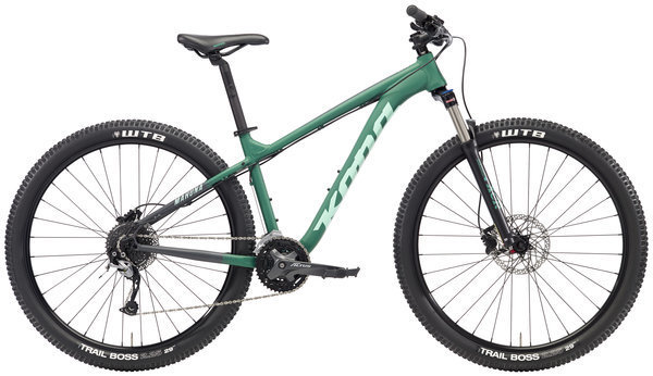 Kona Mahuna Color: Matt Green/Charcoal w/Mint & Charcoal Decals