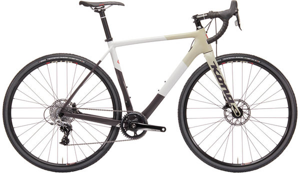 Kona Major Jake Color: Gloss Charcoal, Cream, & Desert Tan