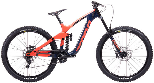 Kona Operator CR Color: Sunset Orange/Indigo