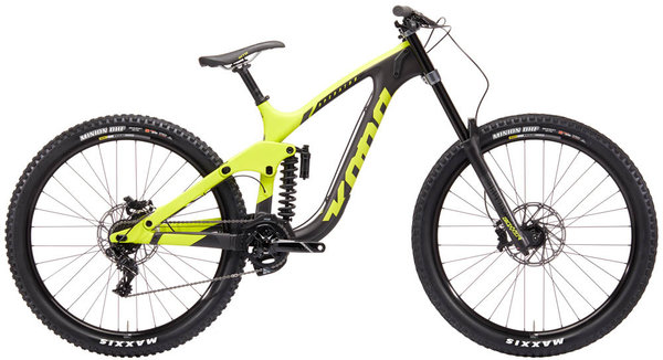 Kona Operator CR Color: Matte Yellow/Charcoal