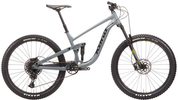 Kona Process 134 27.5 Color: Matte Battleship Gray/Black