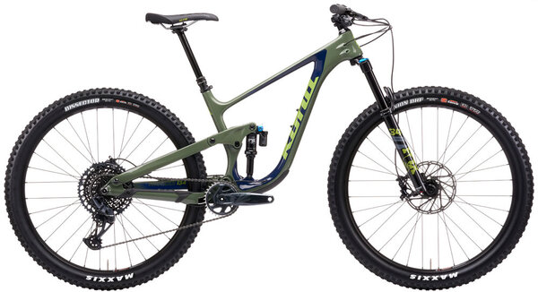 Kona Process 134 CR 29 Color: Gloss Indigo/Concrete Green