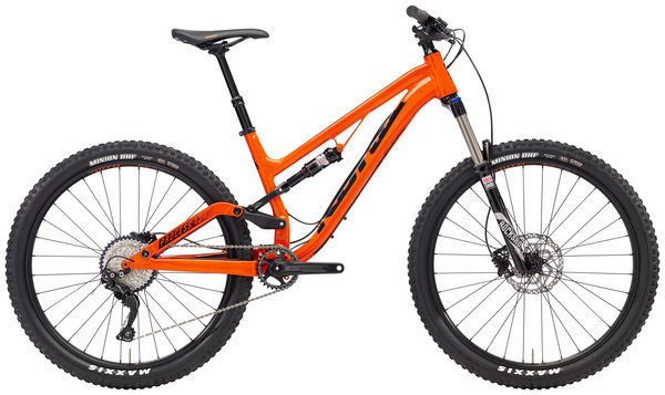 Kona Process 134 SE Color: Gloss Hot Orange w/Black Decals