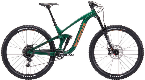 Kona Process 153 29 Color: Gloss Racing Green