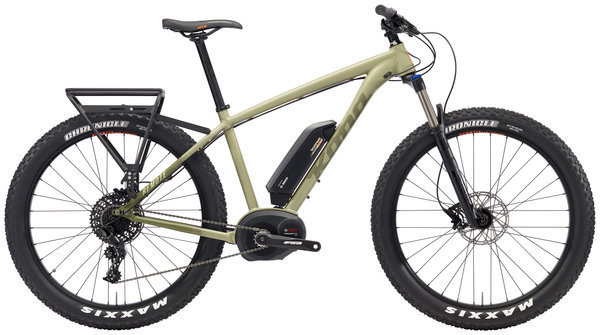 Kona Remote Color: Matt Olive/Dark Olive w/Olive & Orange Decals