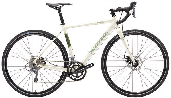 Kona Rove AL Color: Gloss White/Green