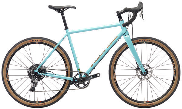 Kona Rove LTD Color: Gloss Aqua w/Copper & Off-White Decals