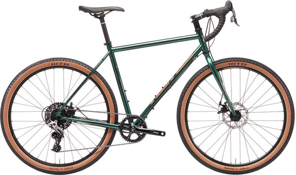 Kona Rove ST Color: Gloss Racing Green