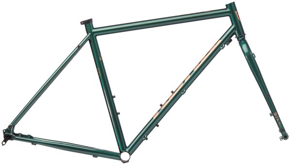 Kona Rove ST Frame/Fork Color: Gloss Racing Green