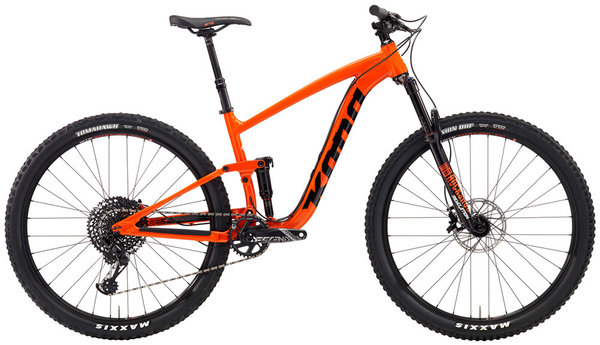 Kona Satori DL Color: Gloss Hot Orange