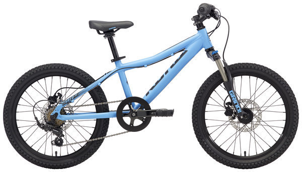 Kona Shred 20 Color: Matt Blue w/Black Decals