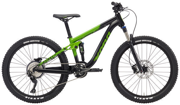 Kona Stinky 24 Color: Matt Green w/Black & Green Decals