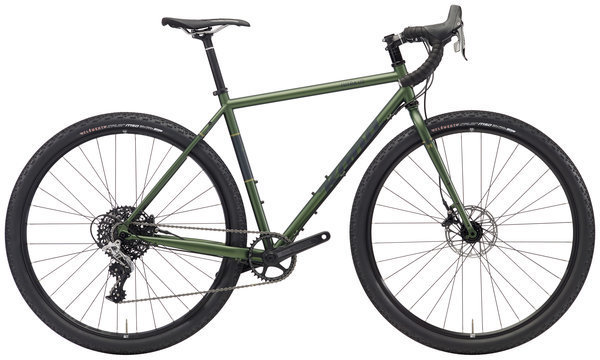 Kona Sutra LTD Color: Matt Metallic Olive w/Charcoal & Khaki Decals