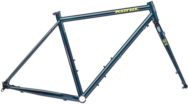 Kona Sutra LTD Frame/Fork Color: Gloss Slate Blue