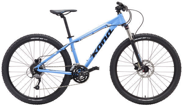 Kona Tika Color: Matte Blue/Black/White