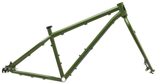 Kona Unit Frameset Color: Matt Green/Blue