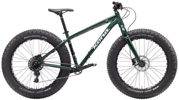 Kona Wo Color: Gloss Green/Silver/Black