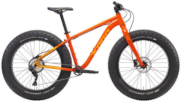 Kona Wo Color: Gloss Hot Orange/Orange w/Orange Decals