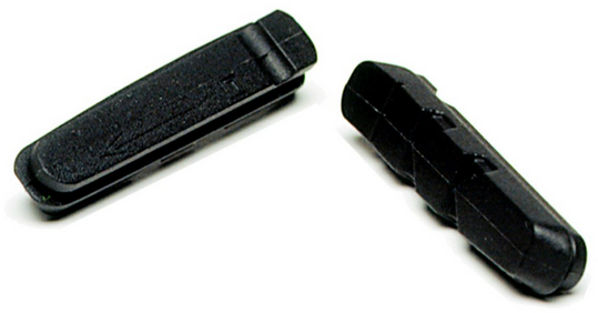 Kool-Stop Dura-Type Brake Pad Inserts Option: Black