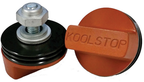 Kool-Stop International Brake Pads Color | Option: Black Anodized | Salmon Compound