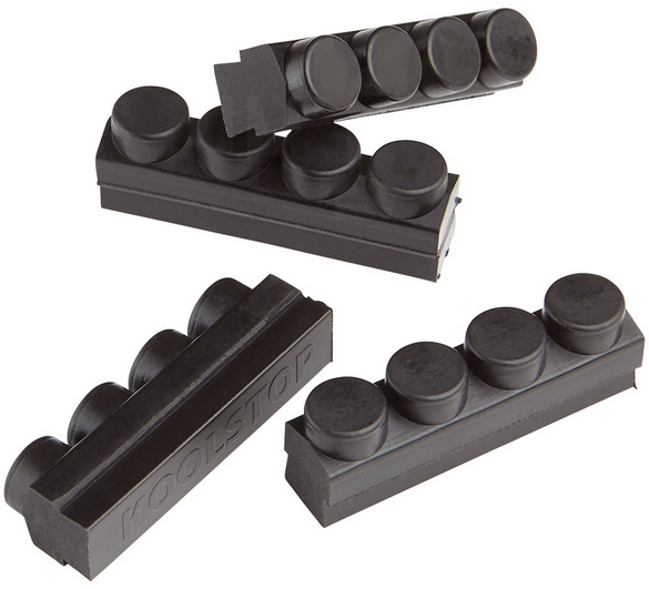 Kool-Stop Mafac Brake Pad Inserts Option: Black