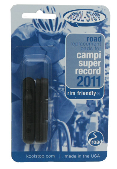 Kool-Stop Campi Super Record Brake Pad Inserts Option: Black