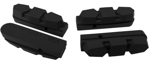 Kool-Stop Shimano AX 600 Brake Pad Inserts Option: Black