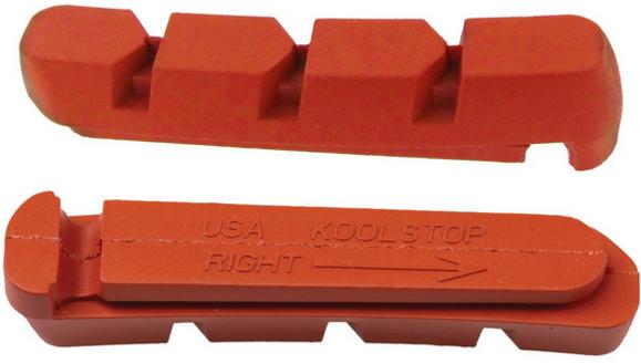 Black Kool Stop replacement Shimano Deore LX cantilever brake pads