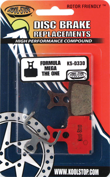 Kool-Stop Steel Disc Pads (Formula) Model | Option: Formula Mega/One/R1/C1 | Organic