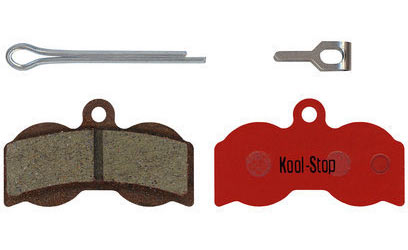 Kool-Stop Steel Disc Pads (Hope) Model | Option: 4 piston XC-4 (Cross Country) | Organic